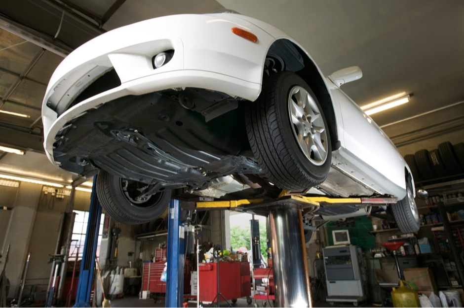Car Lift For Repairs